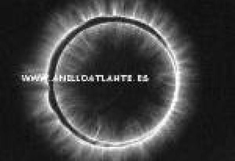 fondo negro anillo